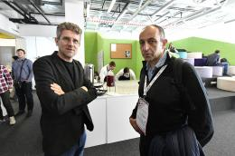 Carlo Ratti and Munther A. Dahleh of MIT